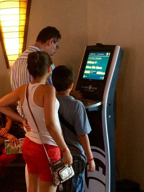 Programa de Fidelidade do La Torre Resort ganha tótens na recepção