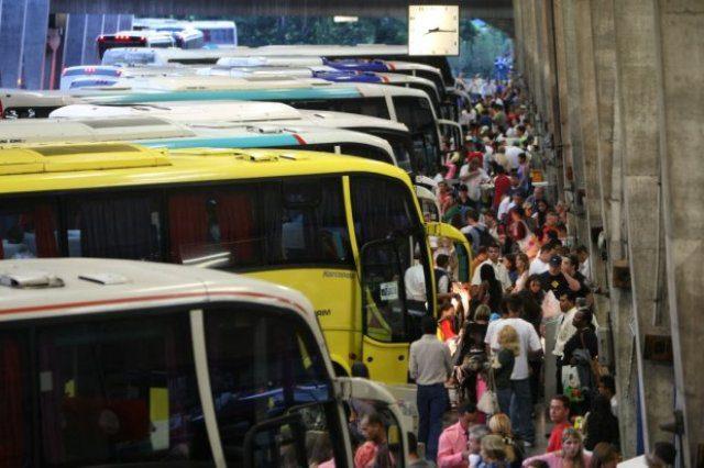 Terminais rodoviários de SP devem ter mais de 700 mil embarques e desembarques