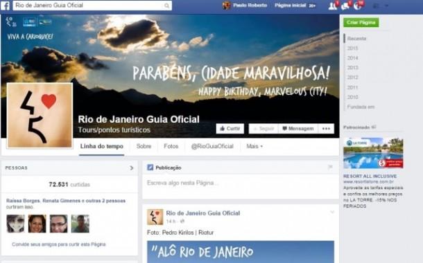 Riotur conquista o nome Rio de Janeiro para uso em suas redes sociais