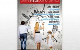 DIÁRIO lança sua nova revista ENTREVISTA PANORÂMICA