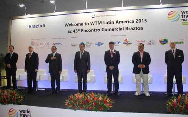 WTM Latin America e 43º Encontro Comercial Braztoa acontecem até sexta (24), em São Paulo