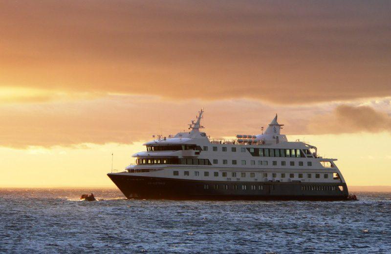 DIÁRIO DO TURISMO zarpa de Ushuaia para Cabo Horn a bordo do Via Australis