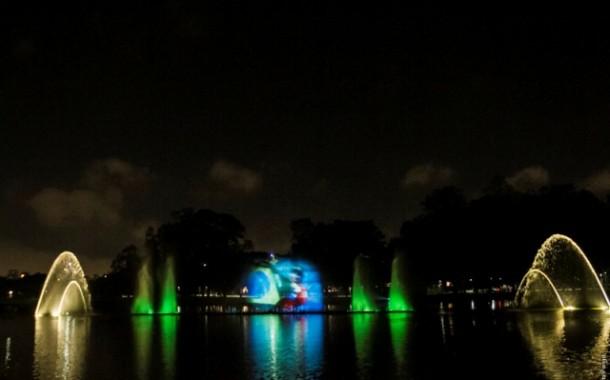 Fonte Multimídia do Parque Ibirapuera recebe espetáculo em homenagem a Ayrton Senna