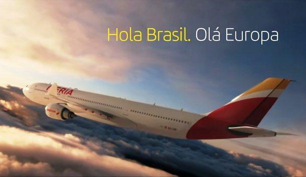 """Iberia realiza mais uma ação da campanha """"Hola/Olá"""" (veja vídeo)"""