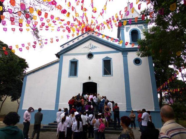 Tradicional Festa do Rosário dos Homens Pretos, na Penha, acontece em junho.