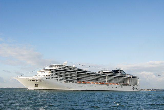 MSC Splendida navegará na China a partir de maio de 2018