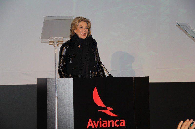 Claudia Raia agradeceu o apoio à cultura prestado pela companhia