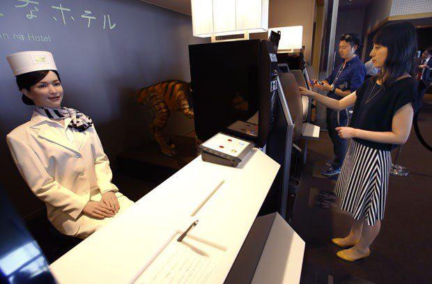 Hotel de baixo custo terá robôs como funcionários no Japão