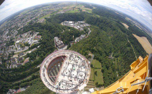 Alemanha vista de cima: um olhar 360º de Rottweil