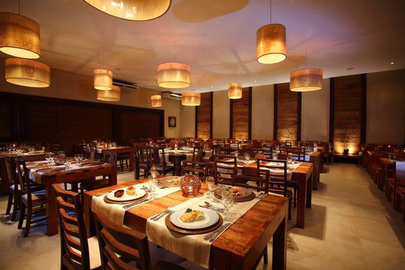 O novo restaurante a La Carte. Investimentos em torno de R$ 300 mil