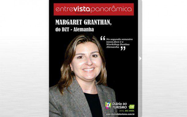 Margaret Granthan é a capa da nova revista ENTREVISTA PANORÂMICA DO DT