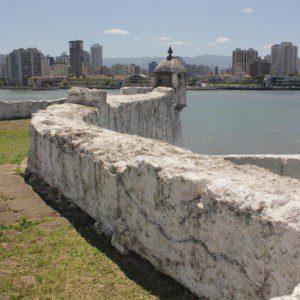Destaque para a muralha da Fortaleza. (Crédito: Pedro Rezende)