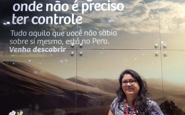 Milagros Ochoa apresenta a 3ª Peru Week na Expo ABAV