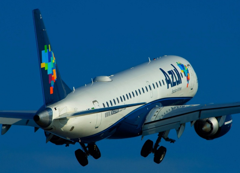 Voo inaugural da Azul do Recife para Petrolina terá recepção especial