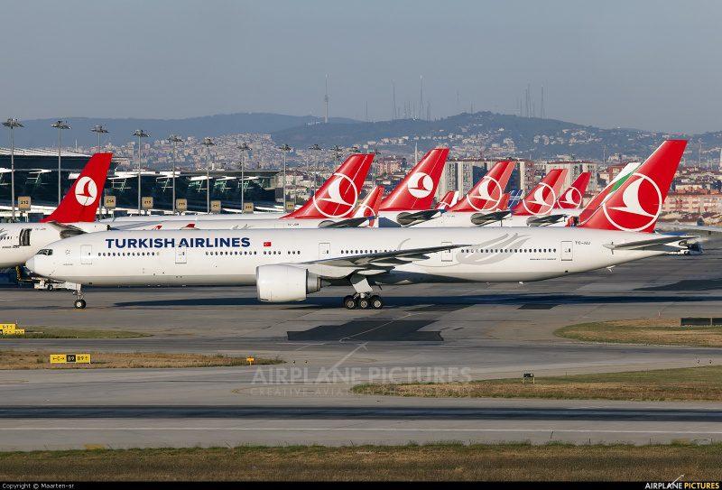 Air Europa e Turkish Airlines assinam acordo de codeshare