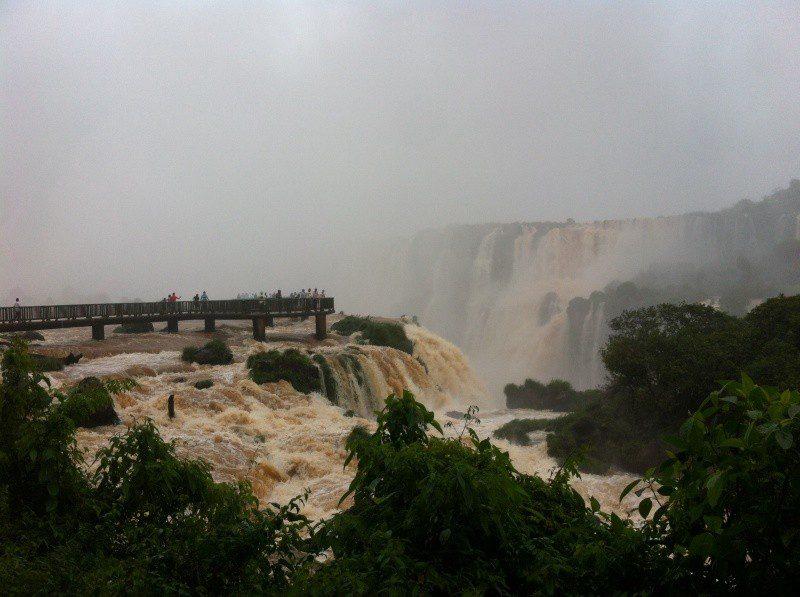 Cataratas: atrativo indiscutível para os hóspedes do Mabu