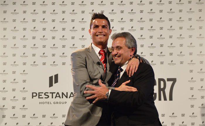 Cristiano Ronaldo e Dionísio Pestana lançam Joint Venture Hoteleira