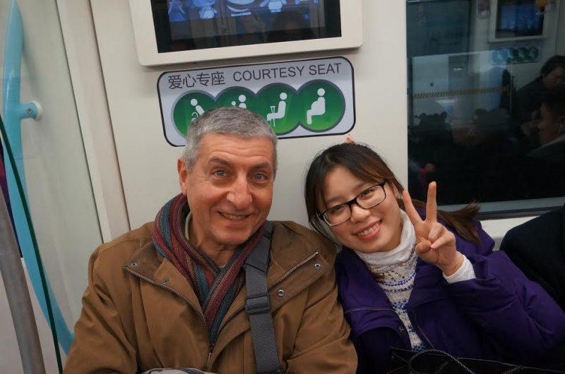 Ingenuidade e simpatia, caracteristicas dos habitantes de Xangai