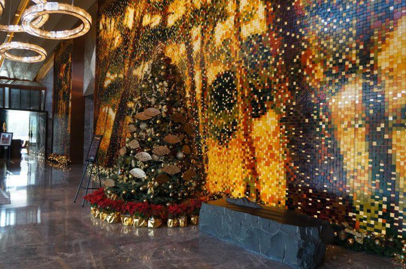 Decoração de Natal ao estilo ocidental