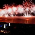 MSC celebra ano novo com quatro navios em Copacabana