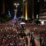 São Paulo comemora festa de Réveillon na Paulista