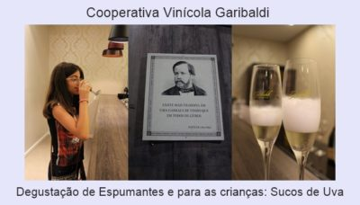 Registro da Cooperativa Vinícola Garibaldi.