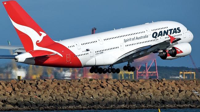 Qantas bate recordes em resultados financeiros