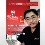 Getúlio Tamada, da Hotma, é o novo entrevistado da revista do DIÁRIO