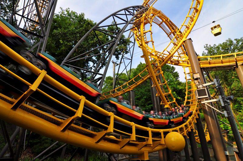 Virginia (EUA) terá primeira montanha-russa de madeira, no Busch Gardens Williamsburg
