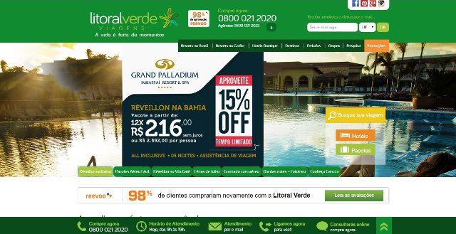 Especializada em Resorts, operadora já oferece pacotes para o Reveillón em seu portal