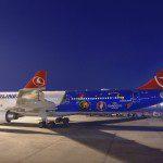 A Turkish Airlines lança seu voo inaugural a Paris