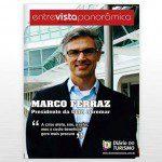 Marco Ferraz, presidente da Clia Abremar, é o entrevistado da revista do DIÁRIO