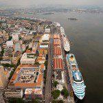 Pier Mauá recebe quatro navios entre quinta a domingo