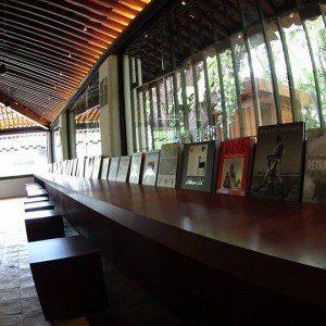 Área interna do Museu Casa do Rio Vermelho. (Foto: divulgação)