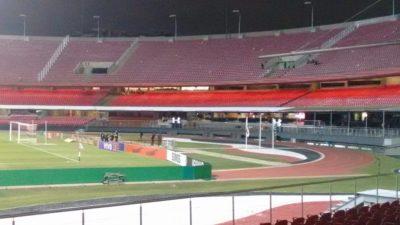 Imagem de parte interna do Estádio do Morumbi