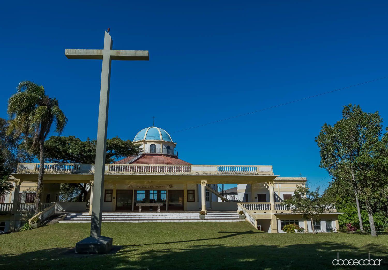 Santuário de Guadalupe no distrito de Cascata, em Pelotas. (Foto: Eduardo Marchioni Escobar Filho)