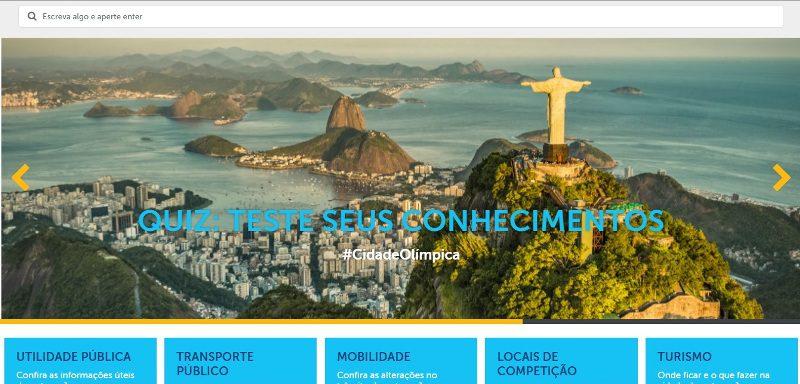 Rio: trânsito e mobilidade são destaques da nova versão do site Cidade Olímpica