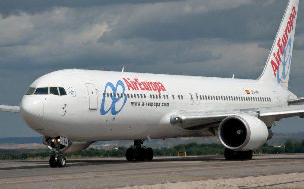 Air Europa oferece Wi-Fi grátis em voos de longa distância