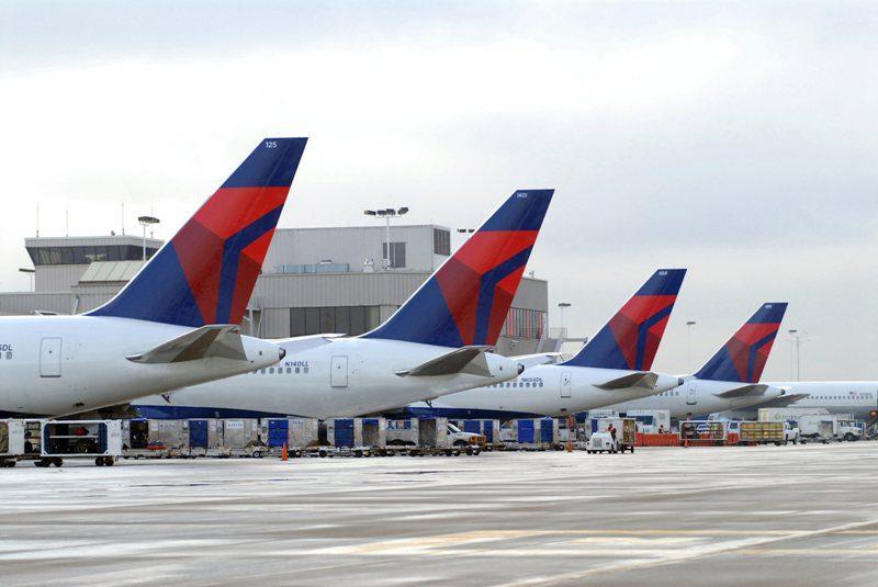 Delta bate recorde de passageiros transportados em um dia