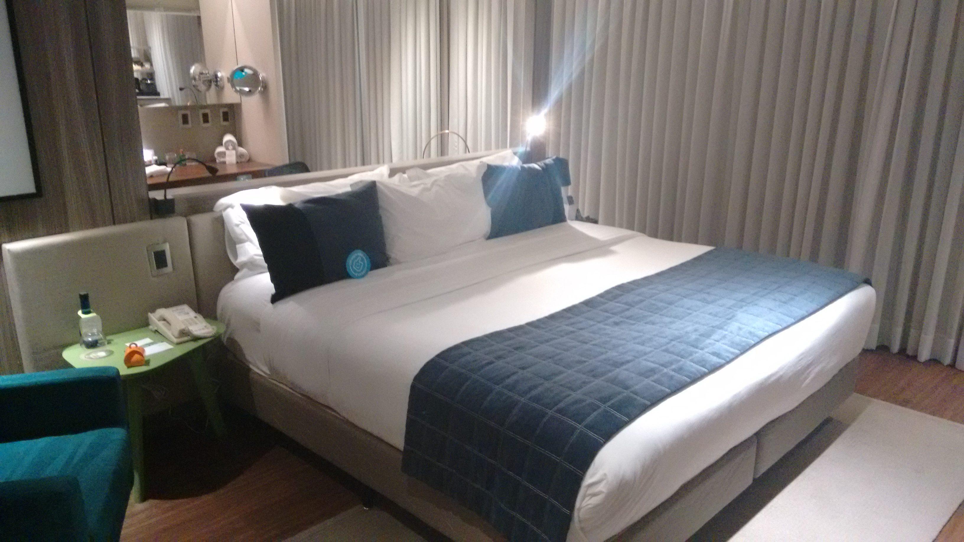 Apartamento Business Class com destaque para a Cama dos Sonhos.