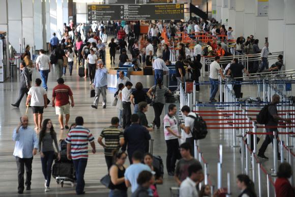 Durante Olimpíada, nove aeroportos já receberam 3 milhões de passageiros