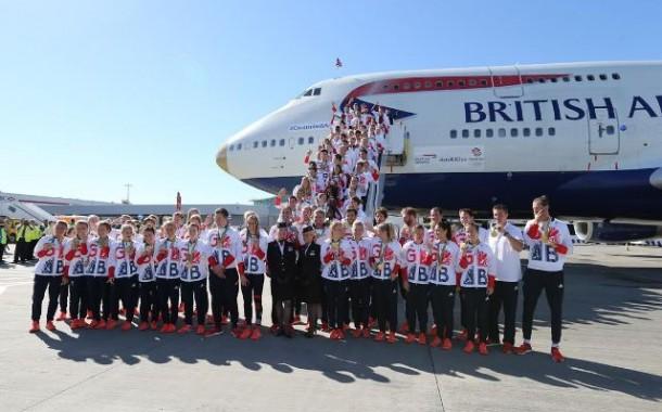 Delegação da Grã-Bretanha retorna a bordo do VictoRIOus
