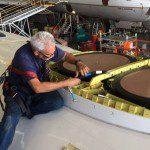 Primeira aeronave Gol com antena de internet e entretenimento de bordo chega ao Brasil