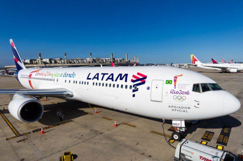 LATAM Airlines divulga estatísticas operacionais preliminares de outubro de 2018