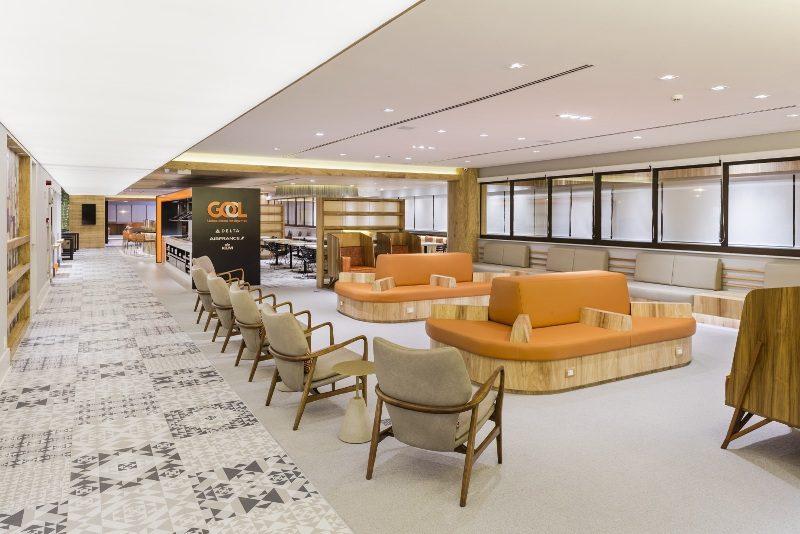 GOL inaugura nova sala VIP no aeroporto de Guarulhos, em São Paulo