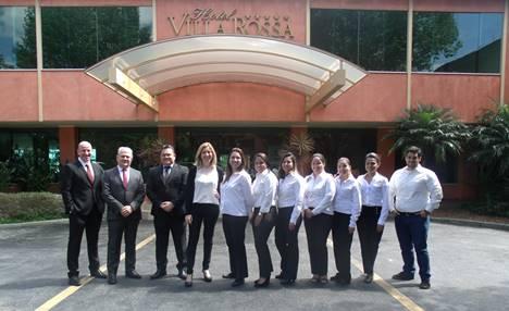 Hotel Villa Rossa incrementa equipe comercial e reforça relacionamento com o trade
