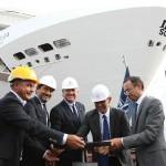 MSC Bellissima será o nome do segundo mega transatlântico da MSC