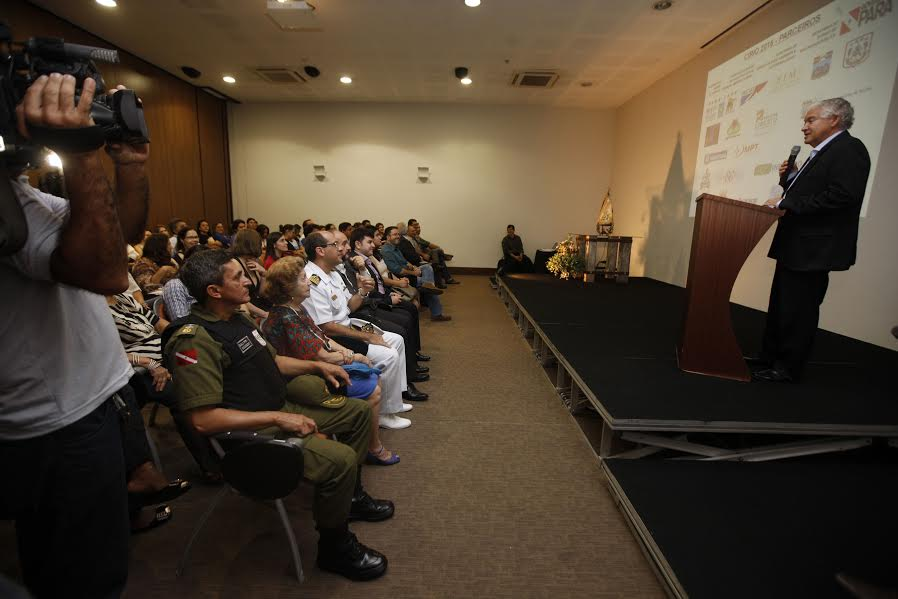 Durante a apresentação foi divulgada a Agenda de Trabalho do Círio 2015, com as programações e ações que serão realizadas pelas diversas instituições parceiras .FOTO: RODOLFO OLIVEIRA - Agencia Pará)