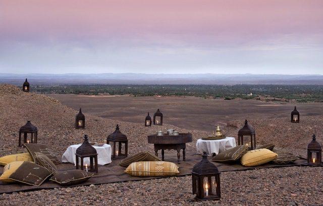 Hotel Dar Ahlam, no Marrocos, agora integra a Small Luxury Hotels of the World™
