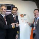 GOL realiza seu primeiro voo comercial com internet a bordo